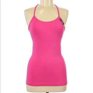 NWT Coobie Seamless Racer Back Lace Tank Top